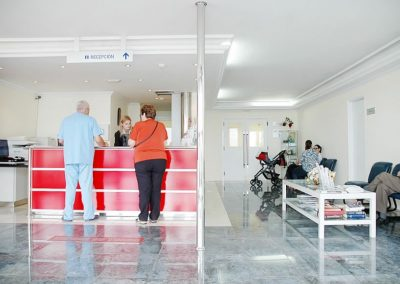 Recepción Clínica La Orotava