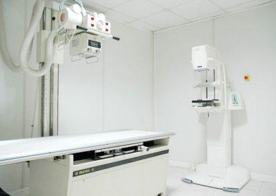 Sala de radiodiagnóstico
