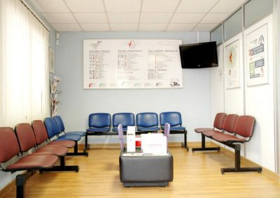Sala Espera Centro Médico Vida Tejina