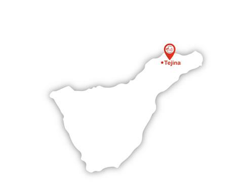 Mapa localización Centro Médico Vida Tejina