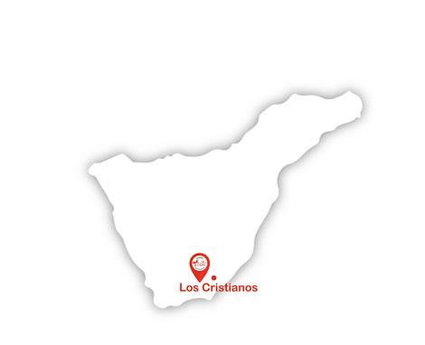 Localización Centro Médico Vida Sur Los Cristianos